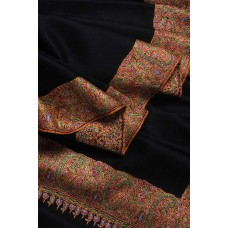 Black Big Dordaar Pashmina